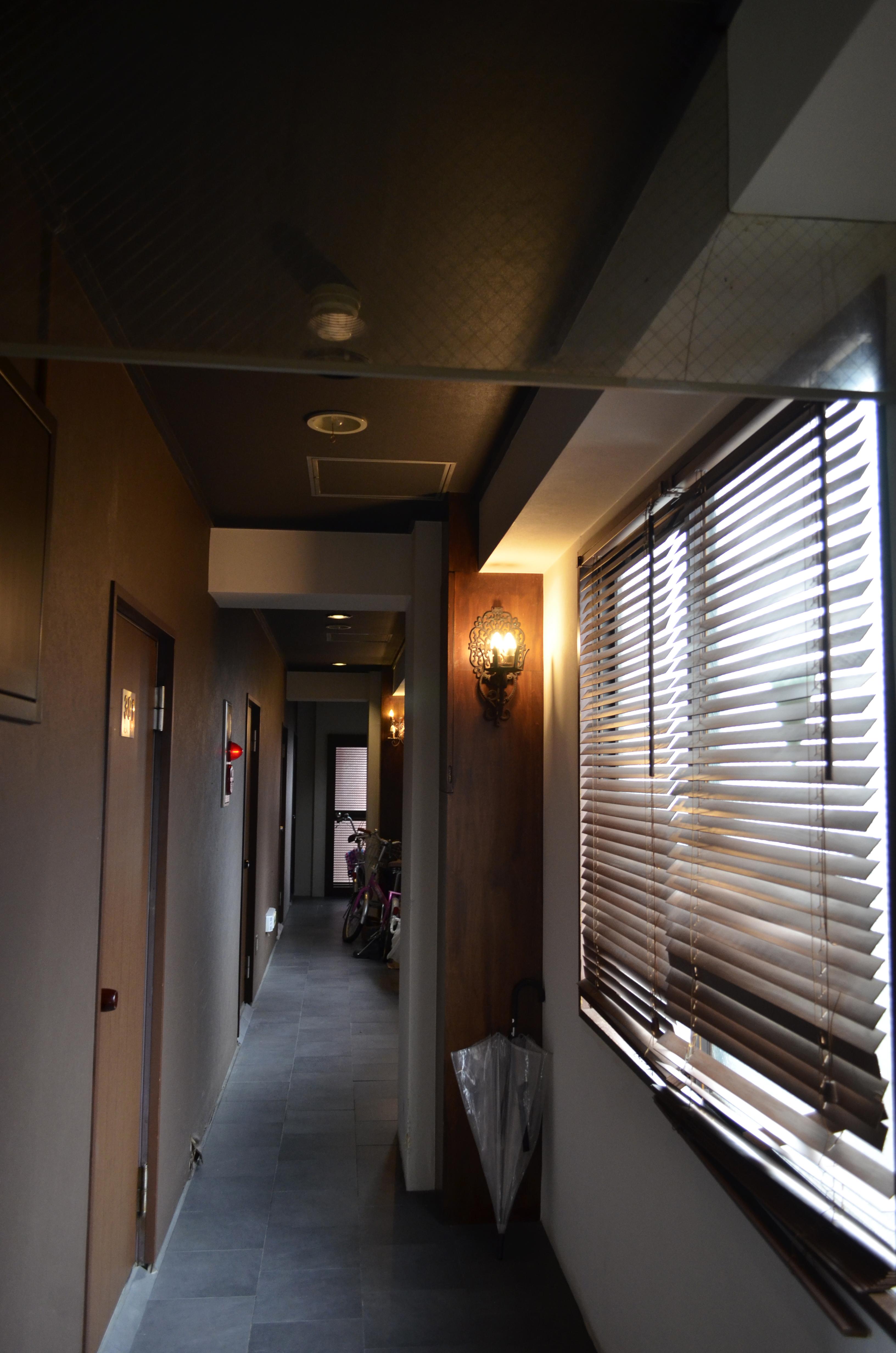 2015.吉原アトリエ351共用部リノベーション現場調査