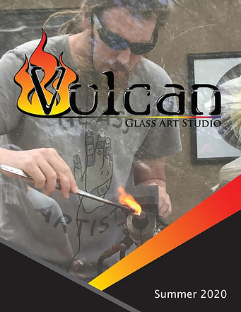 Vulcan Glass Art Studio Summer 2020 Catalogue