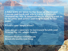 Family Fit Plan - Getting Ready Part 1. What's Your Inspiration