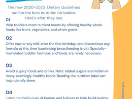 Best Nutrition for Toddlers