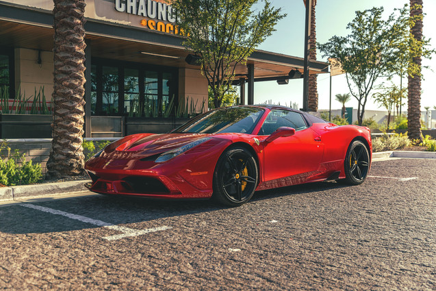 Ferrari 458 Speciale Aperta // Scottsdale Ferrari