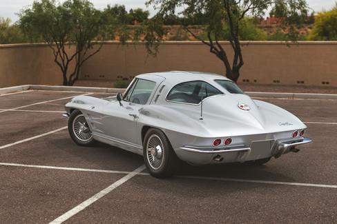 1963 Split-Window Corvette // Scottsdale Ferrari