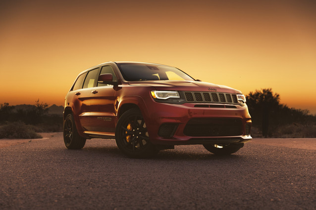 Jeep Grand Cherokee Trackhawk // Owner
