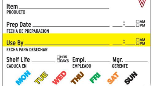 FIFO Label