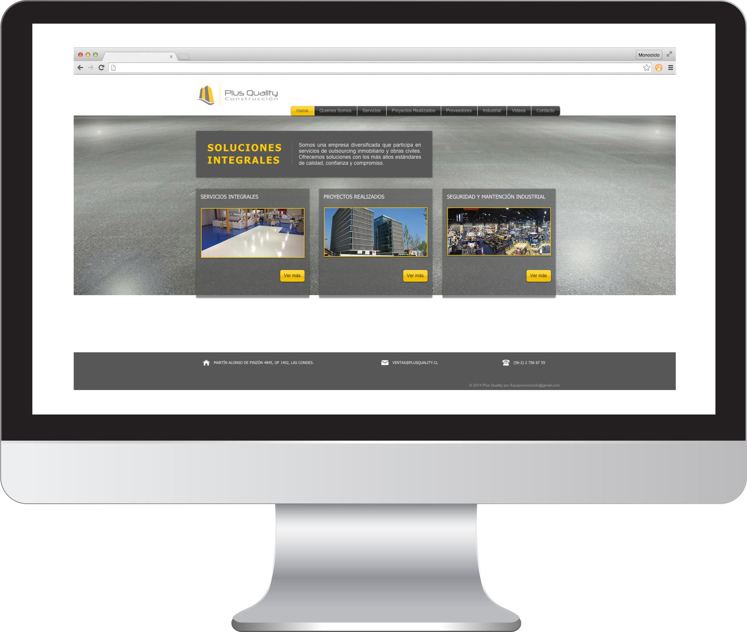 Sitio Web Plus Quality