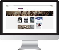 Sitio Web Púrpura Producciones