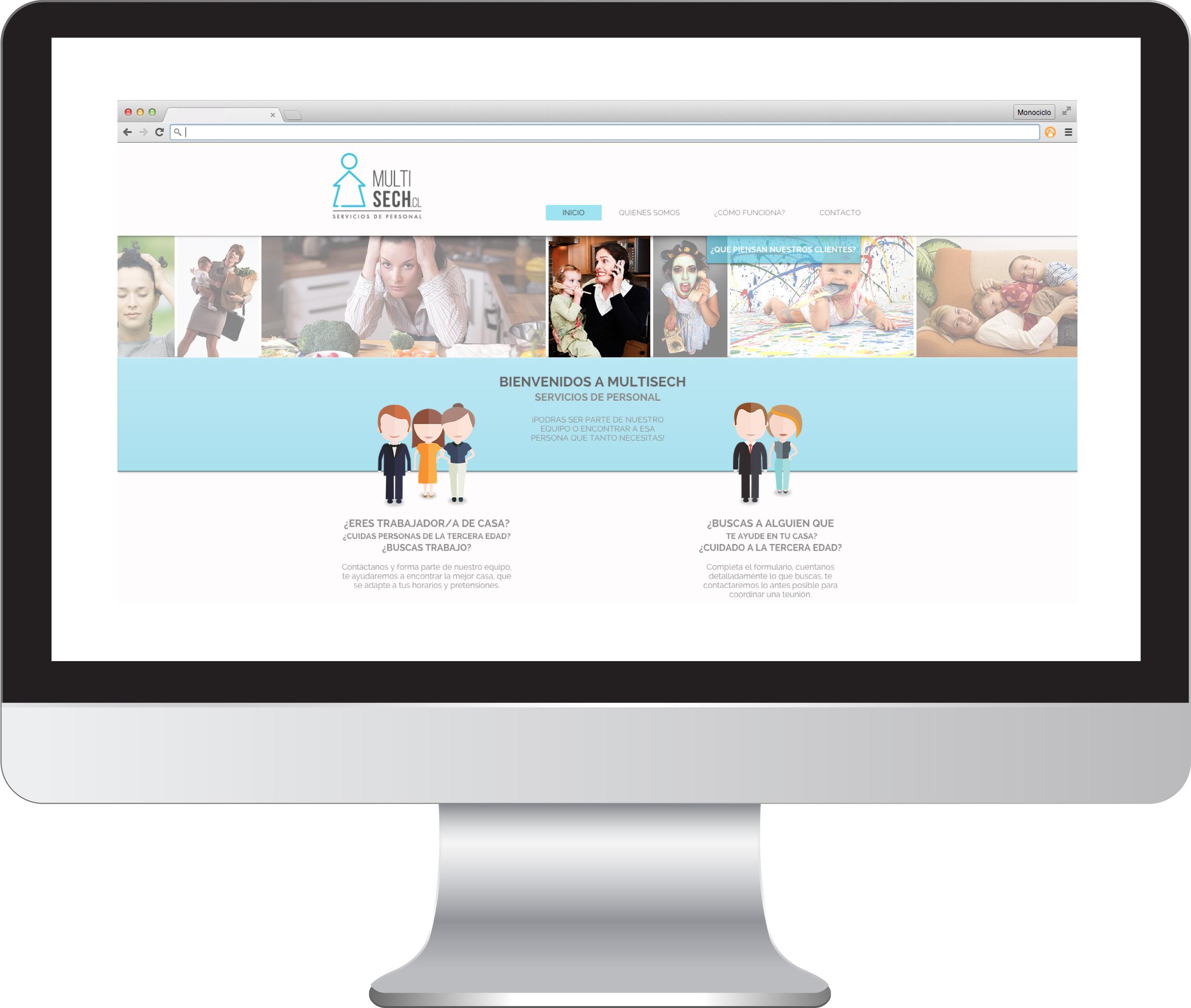 Sitio Web Multisech