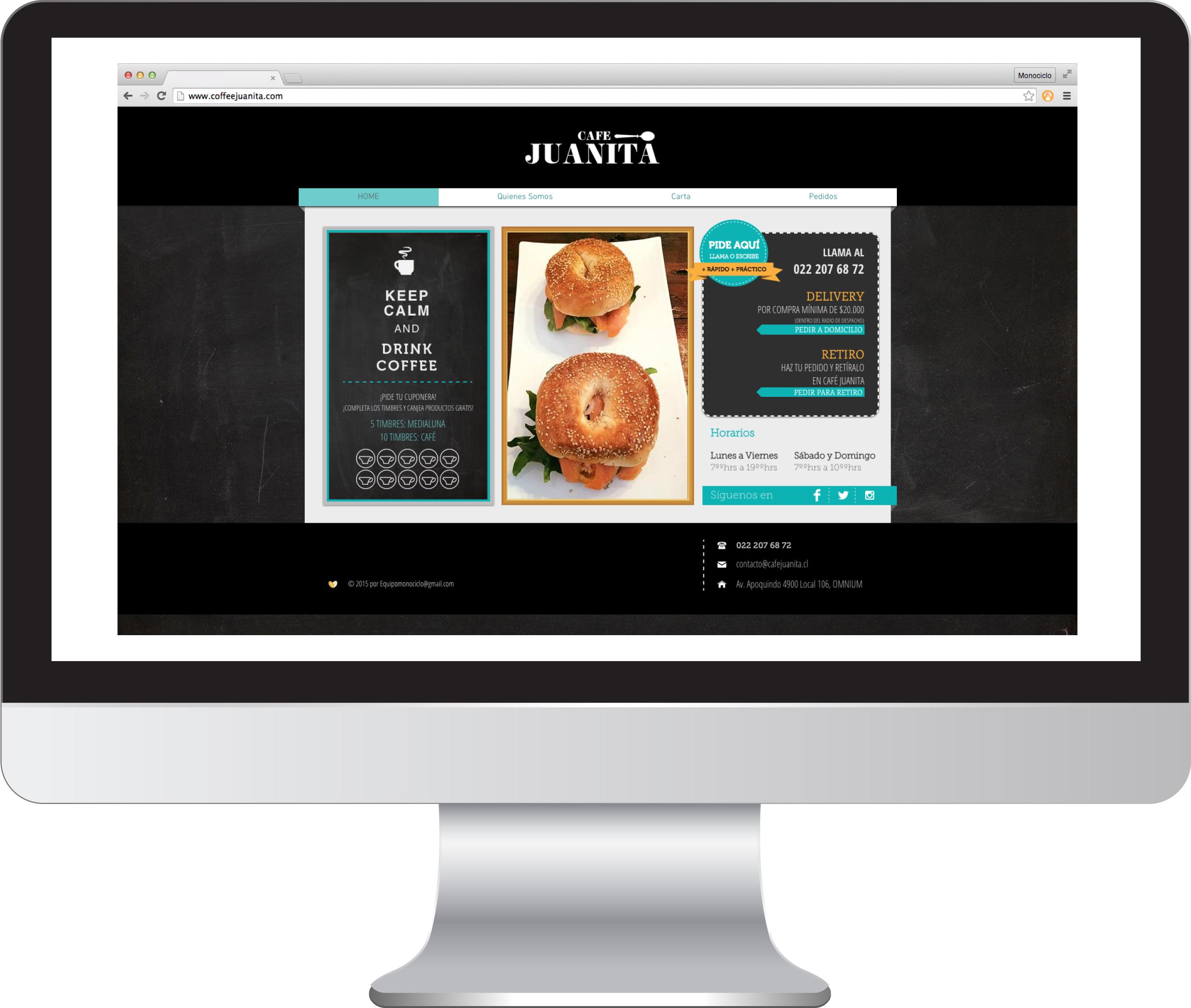 Sitio Web Café Juanita