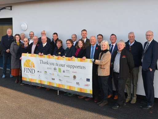 'First look' inside vital new home for food bank charity FIND