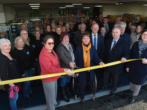 Vital new home for food bank charity FIND officially opens