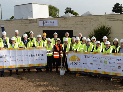 Work starts to build vital new home for Ipswich food bank charity FIND
