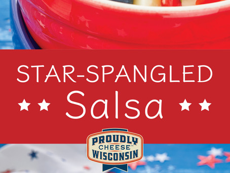 Try this Star Spangled Salsa for the 4th of July!