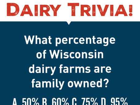 What percentage of WI dairy farms are family owned?