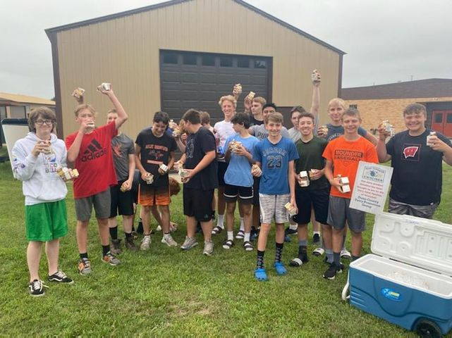 Elk Mound football team