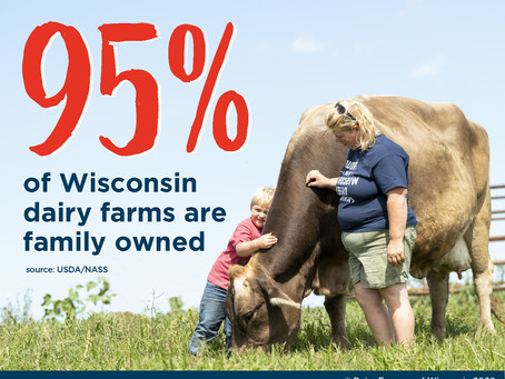Family owned dairy farms