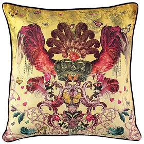 'Amor' Linen Large Cushion
