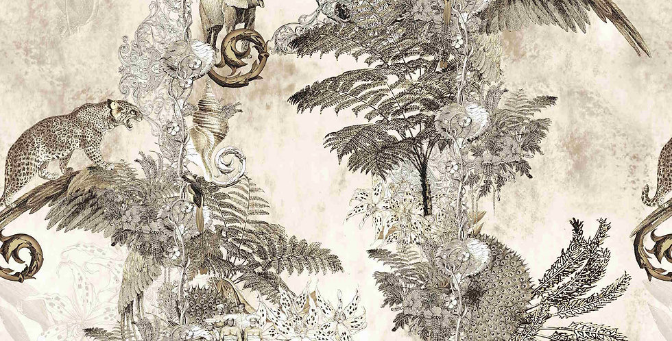 Wallpaper Jungle Paradise - Aniseed