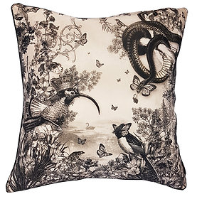 'Cygnus' Velvet Scatter Cushion