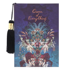 'Queen of Everything' Large Notebook