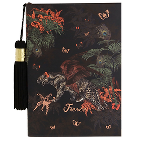 'Fierce' Large Notebook