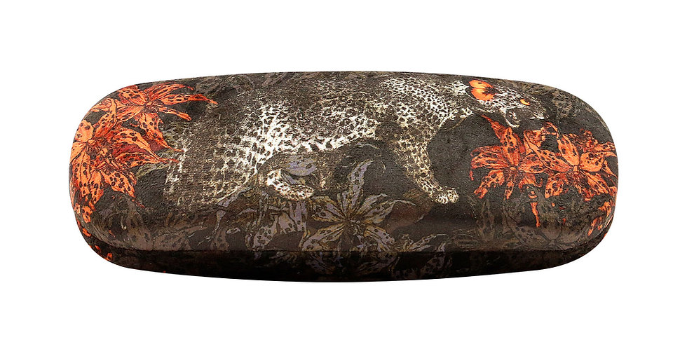 'Leopard' Glasses Case