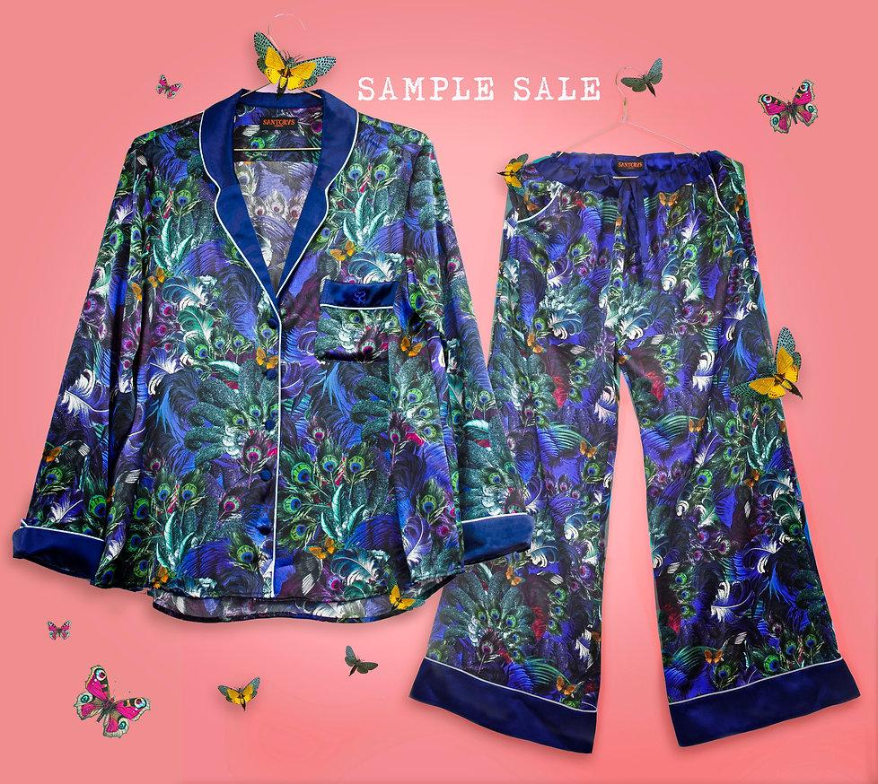 sample sale, loungewear