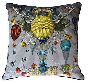 'Cirque' Velvet Scatter Cushion