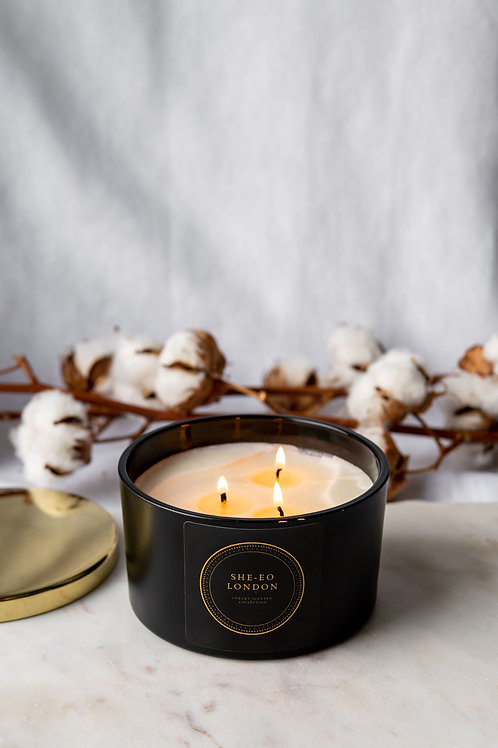 Black Oud, 3 Wick Candle - 400g