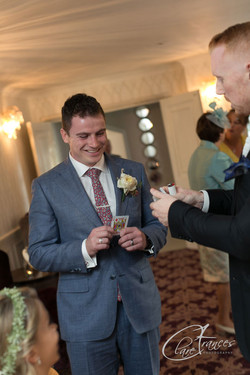 Magic for the Happy Groom!