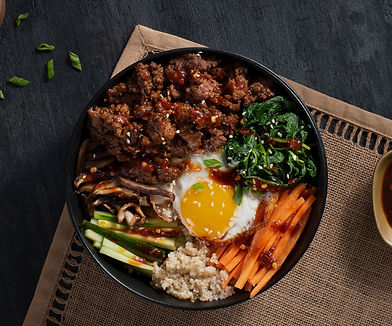 Bibimbap Bison Power Bowl with Quinoa-05