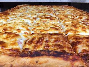 Classic Mozzarella Sheet Pizza, Party Pizza, Colchester Pizza,