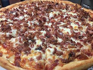 Bacon Pizza, Colchester Pizza