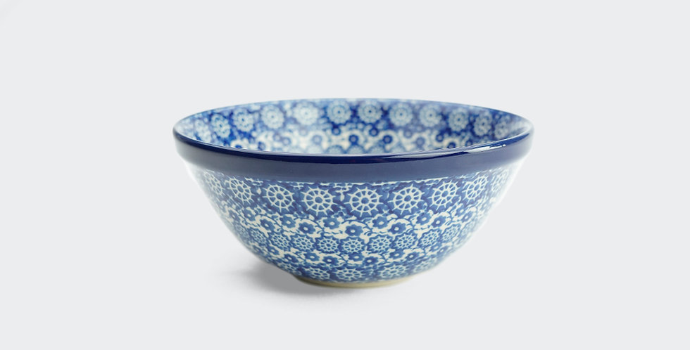Small Cereal Bowl in Lulworth Blue