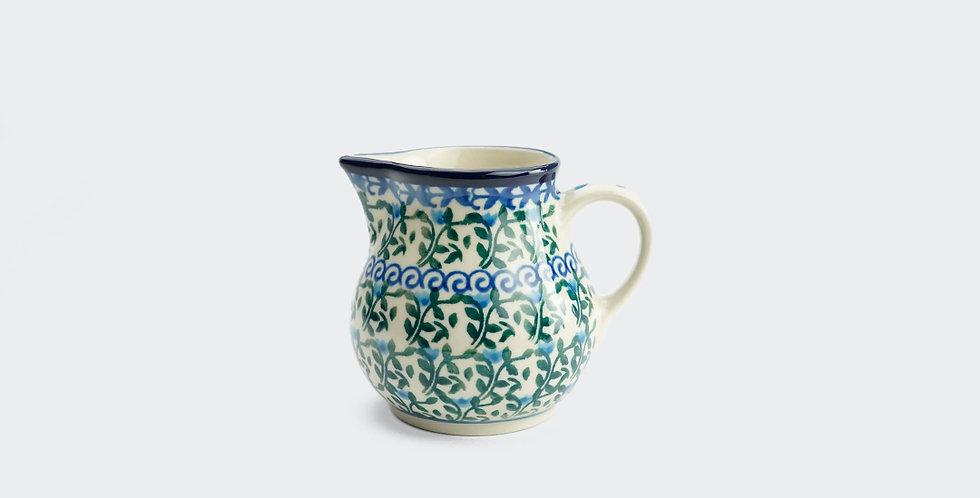 200ml Polish Pottery Milk Jug