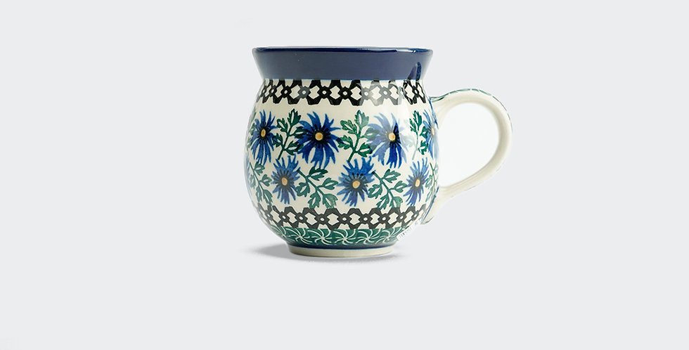 Medium Woodsman Mug in Cornflower 350ml