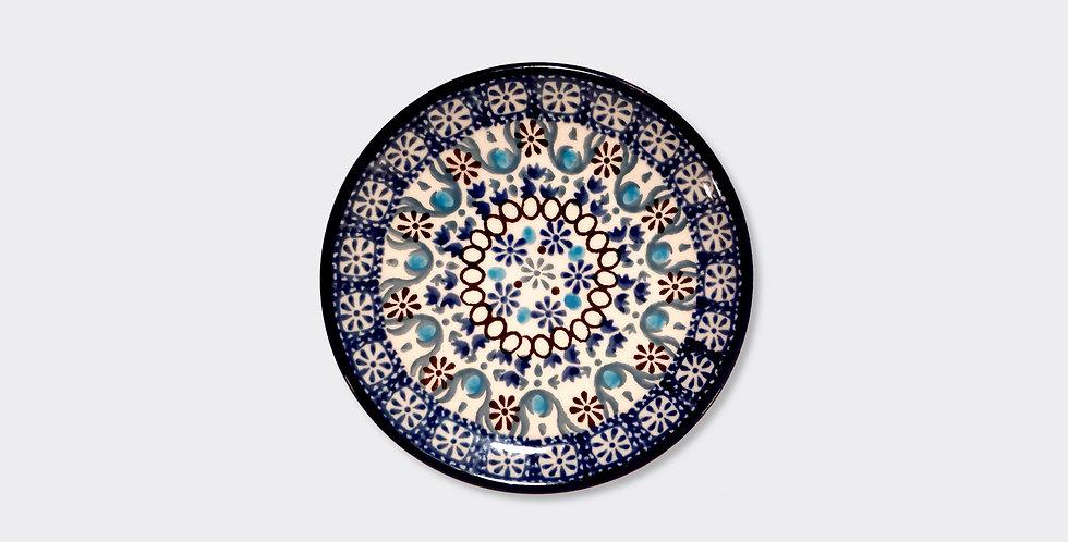 Handpainted Moroccan Side Plate