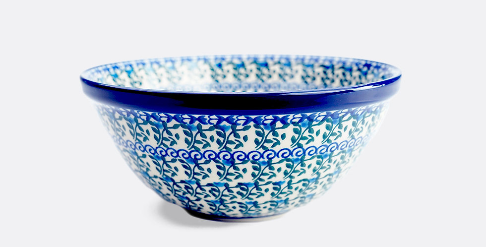 Small Serving Bowl in Speedwell 20cm