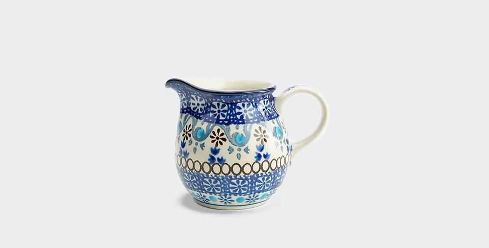 Moroccan Pattern Small Jug, Handmade