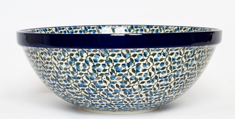 Large Serving Bowl in Sloe Berry