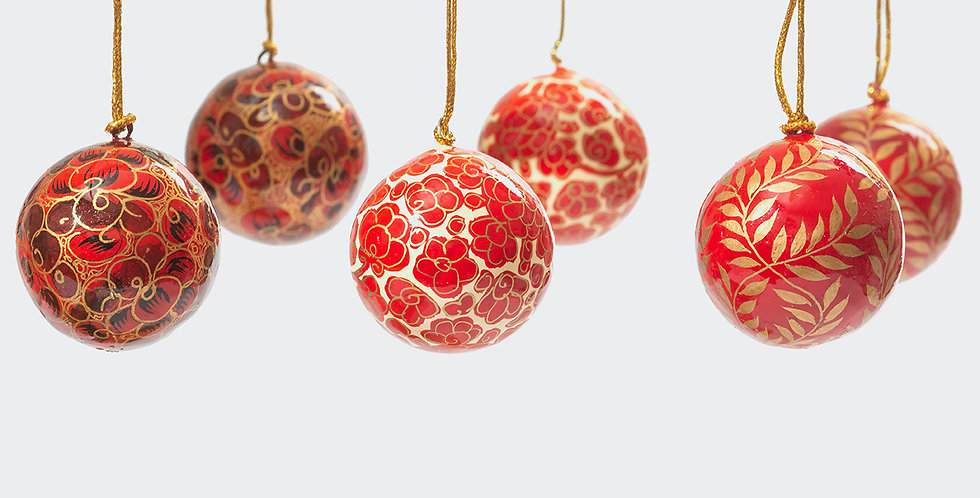 Artisan Homeware beautiful Christmas decorations. Ethically sourced Christmas Decorations.