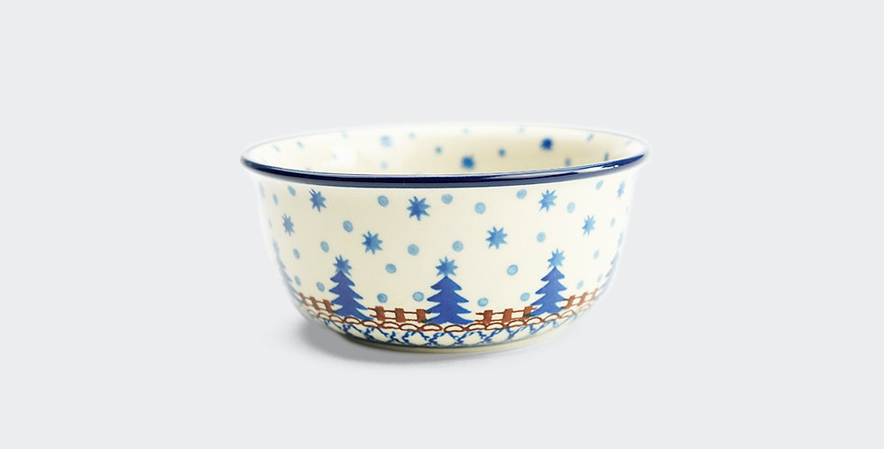 Nibble Bowl 13cm in Christmas Trees