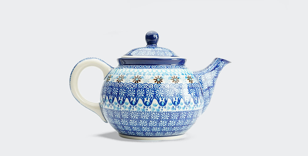 Medium Teapot in Marrakesh Blue