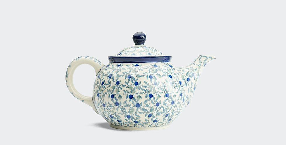 Medium Teapot in Olive Leaf