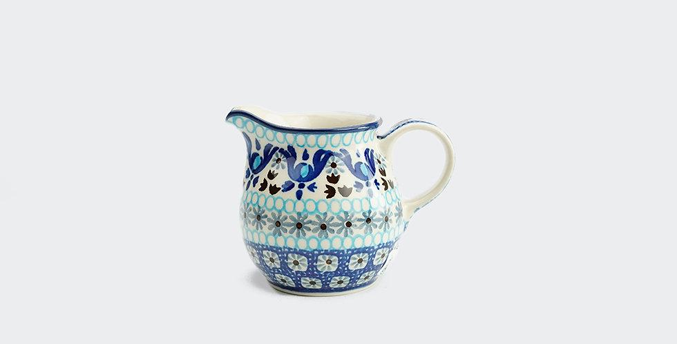 Spring Flower Milk Jug by Ceramika Artystyczna