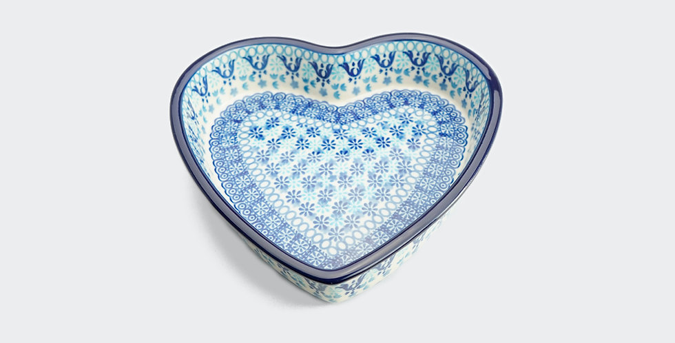 Small Heart Shaped Baking Dish in Essaouira