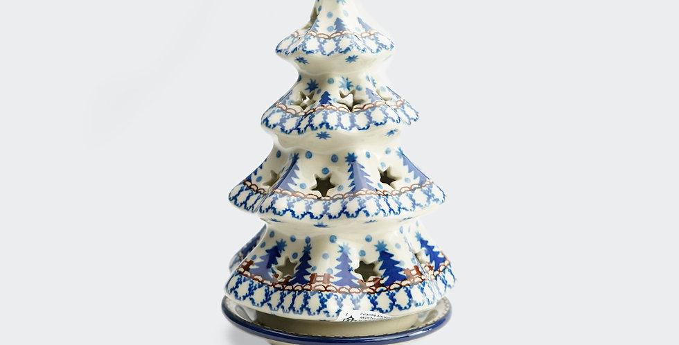 Medium Christmas Tree Tea Light Holder