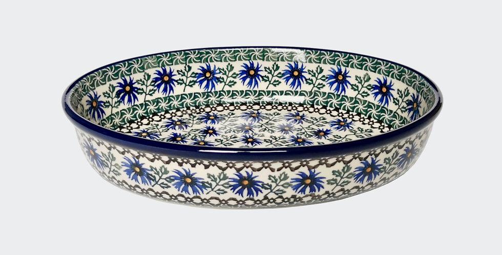 Medium Oval Baking Dish in Cornflower