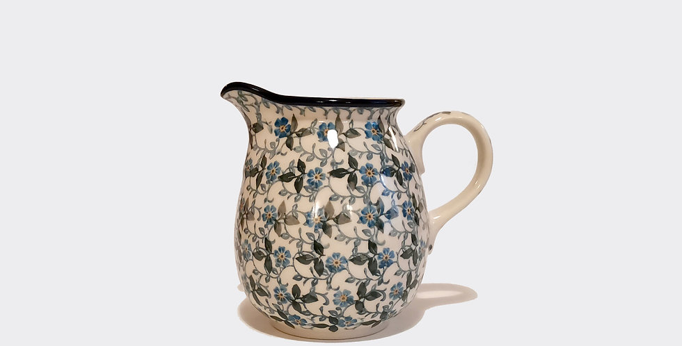 Pretty Milk Jug Flower Pattern Made In Poland