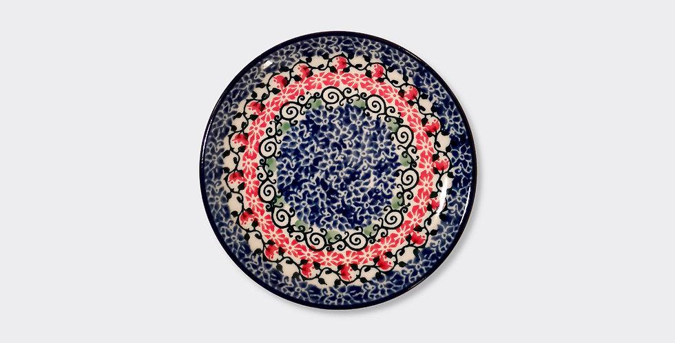 Boleslawiec Stoneware Side Plate, Handmade in Poland