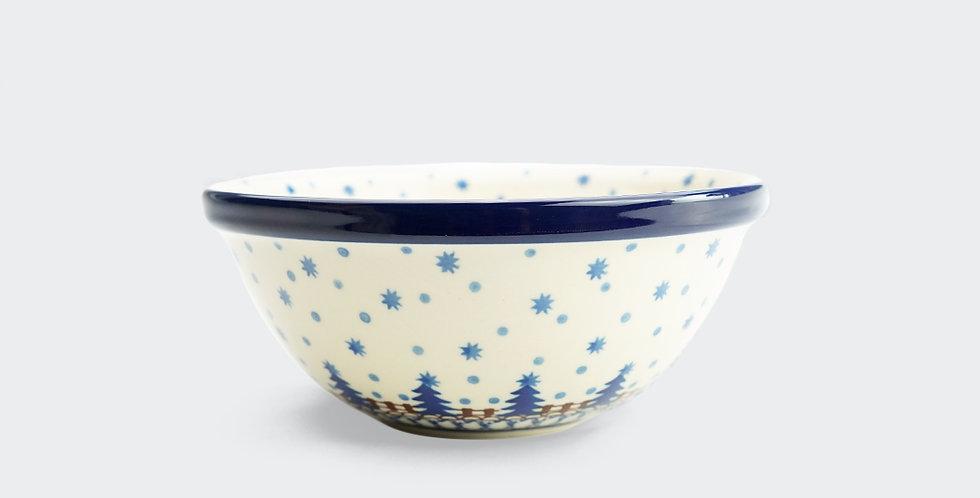 Festive Christmas bowl. Artisan Homeware provide high quality Christmas ceramics and decorations.